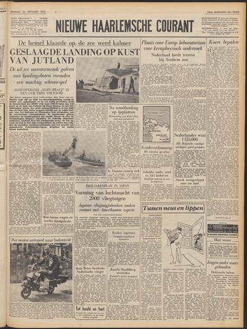 Nieuwe Haarlemsche Courant 1952-09-23