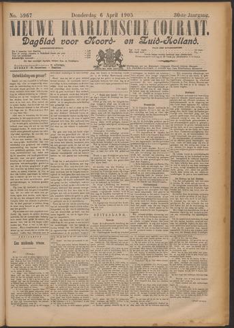 Nieuwe Haarlemsche Courant 1905-04-06