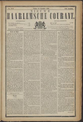 Nieuwe Haarlemsche Courant 1890-11-28