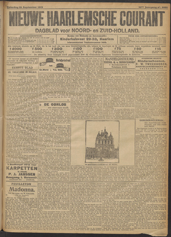 Nieuwe Haarlemsche Courant 1915-09-25