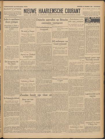 Nieuwe Haarlemsche Courant 1940-11-28