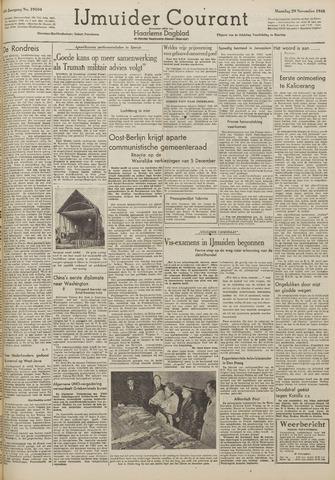 IJmuider Courant 1948-11-29