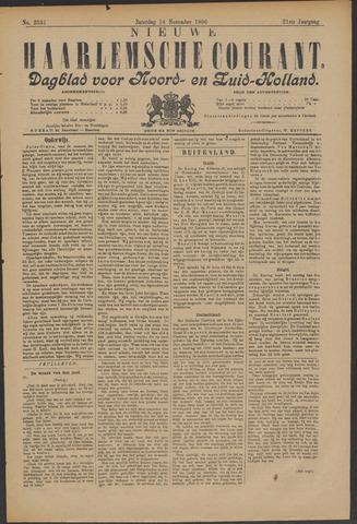 Nieuwe Haarlemsche Courant 1896-11-14