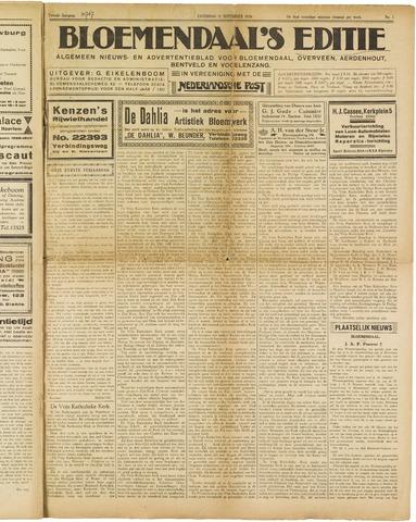 Bloemendaal's Editie 1926-09-11