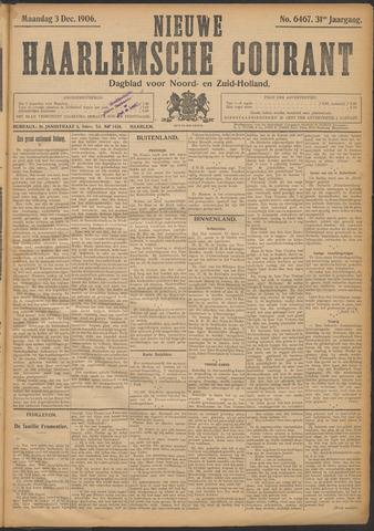 Nieuwe Haarlemsche Courant 1906-12-03