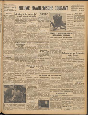 Nieuwe Haarlemsche Courant 1949-08-25
