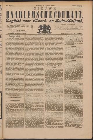 Nieuwe Haarlemsche Courant 1899-08-09