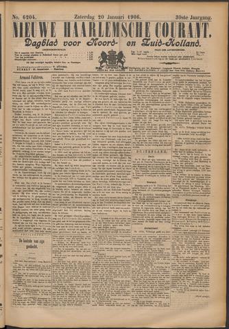 Nieuwe Haarlemsche Courant 1906-01-20