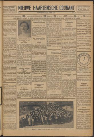 Nieuwe Haarlemsche Courant 1931-04-30
