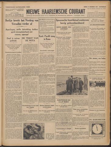 Nieuwe Haarlemsche Courant 1936-11-15