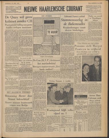 Nieuwe Haarlemsche Courant 1959-04-22
