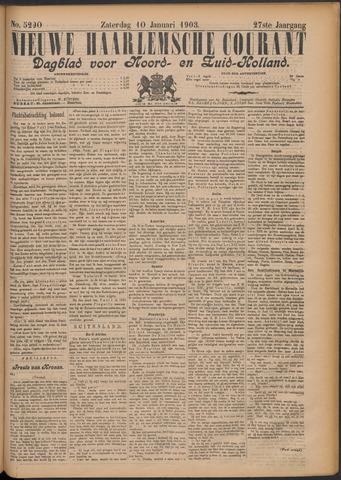 Nieuwe Haarlemsche Courant 1903-01-10