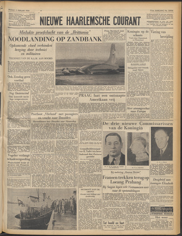Nieuwe Haarlemsche Courant 1954-02-05