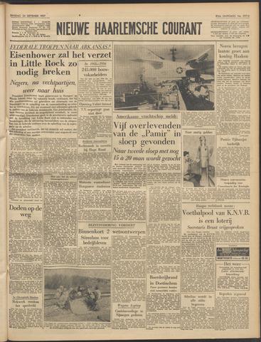 Nieuwe Haarlemsche Courant 1957-09-24