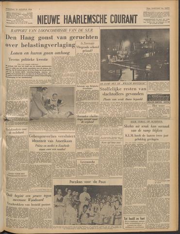 Nieuwe Haarlemsche Courant 1954-08-25