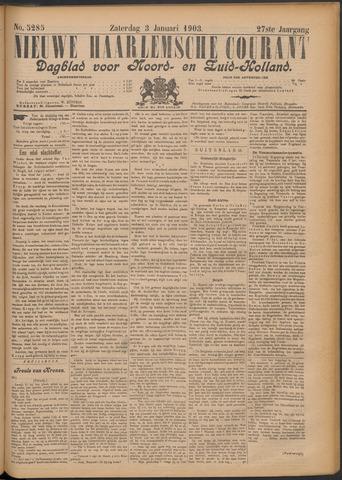 Nieuwe Haarlemsche Courant 1903-01-03
