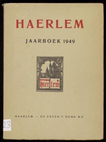 Jaarverslagen en Jaarboeken Vereniging Haerlem 1949