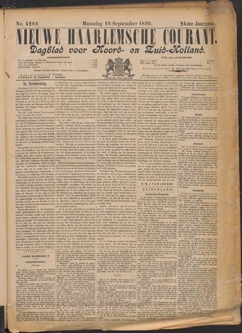 Nieuwe Haarlemsche Courant 1899-09-18