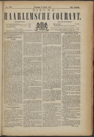 Nieuwe Haarlemsche Courant 1891-03-25