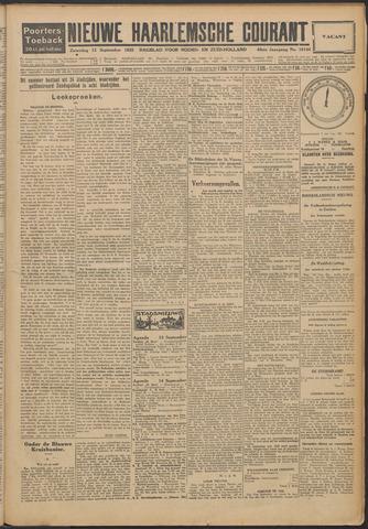 Nieuwe Haarlemsche Courant 1925-09-12