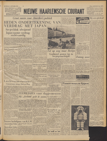 Nieuwe Haarlemsche Courant 1951-09-08
