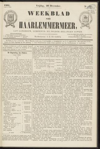 Weekblad van Haarlemmermeer 1861-12-20