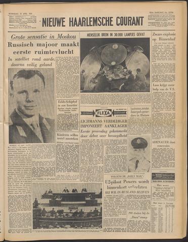 Nieuwe Haarlemsche Courant 1961-04-12