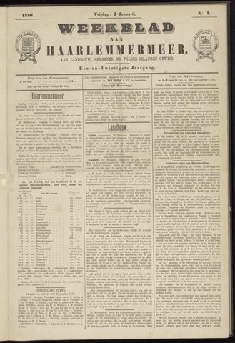 Weekblad van Haarlemmermeer 1880-01-02