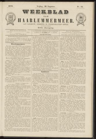 Weekblad van Haarlemmermeer 1870-08-26