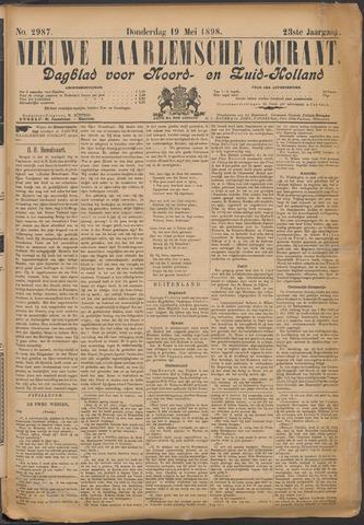 Nieuwe Haarlemsche Courant 1898-05-19