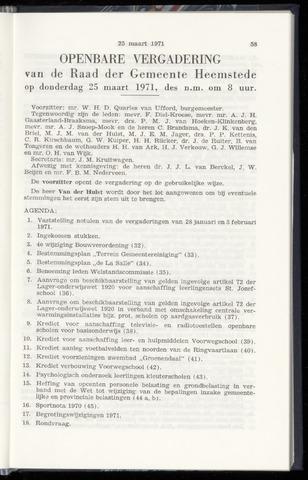 Raadsnotulen Heemstede 1971-03-25