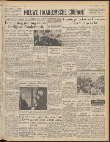 Nieuwe Haarlemsche Courant 1954-02-15