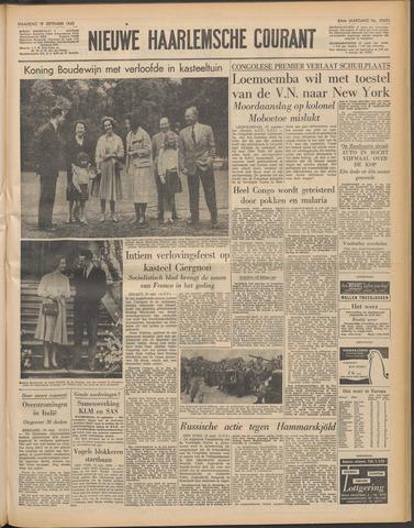 Nieuwe Haarlemsche Courant 1960-09-19