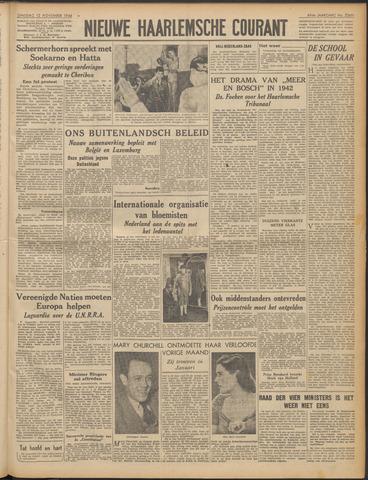 Nieuwe Haarlemsche Courant 1946-11-12