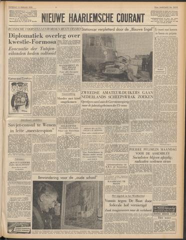 Nieuwe Haarlemsche Courant 1955-02-12
