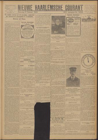 Nieuwe Haarlemsche Courant 1923-02-17