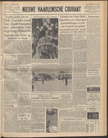 Nieuwe Haarlemsche Courant 1958-02-15