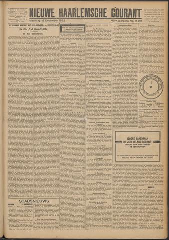 Nieuwe Haarlemsche Courant 1922-12-18