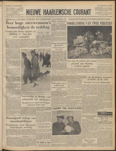 Nieuwe Haarlemsche Courant 1954-01-14