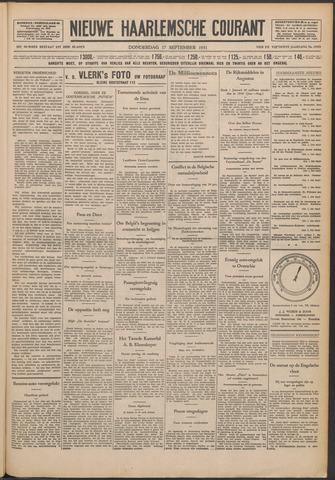 Nieuwe Haarlemsche Courant 1931-09-17