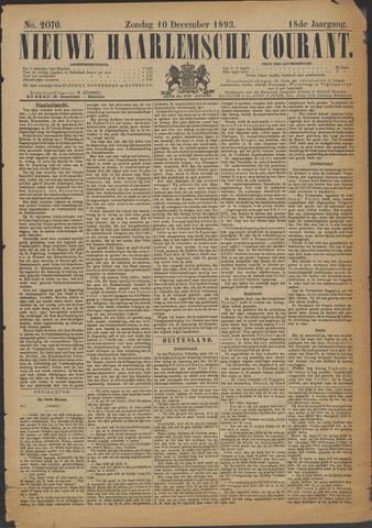 Nieuwe Haarlemsche Courant 1893-12-10