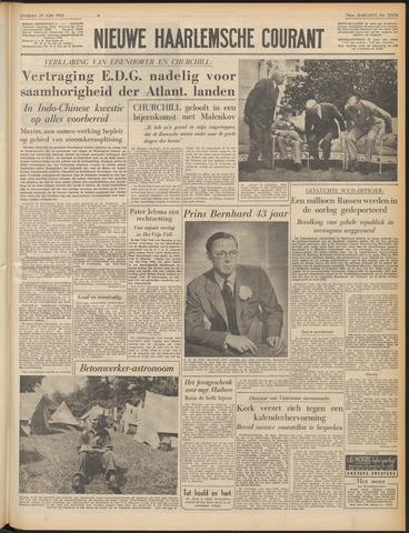 Nieuwe Haarlemsche Courant 1954-06-29