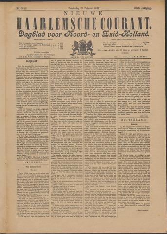 Nieuwe Haarlemsche Courant 1897-02-25