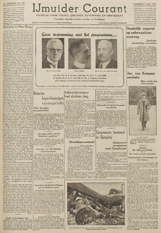 IJmuider Courant 1939-08-09