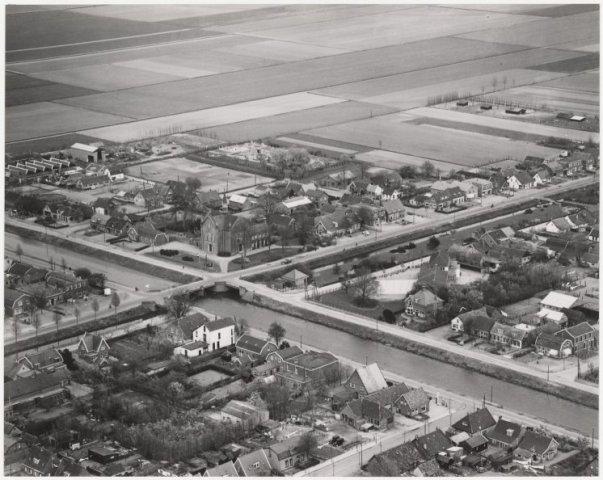 Luchtfoto Nieuw-Vennep, gemeente Haarlemmermeer.