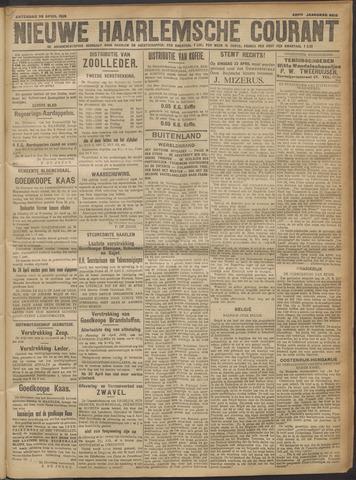 Nieuwe Haarlemsche Courant 1918-04-20