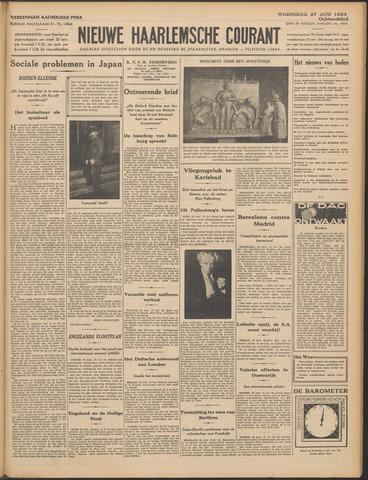 Nieuwe Haarlemsche Courant 1934-06-27