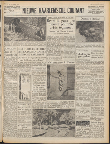 Nieuwe Haarlemsche Courant 1955-11-22