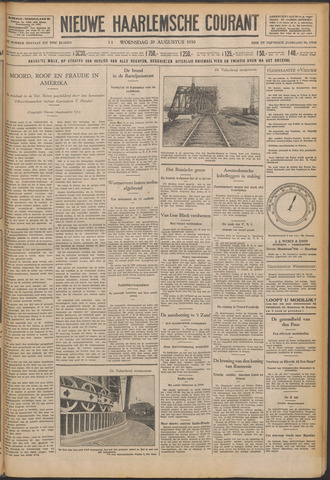 Nieuwe Haarlemsche Courant 1930-08-20