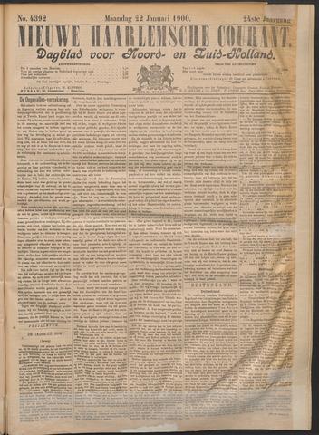 Nieuwe Haarlemsche Courant 1900-01-22